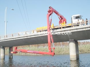 China Dongfeng 6x4 16m Bucket Bridge Inspection Equipment , Detection Operating Vehicle supplier